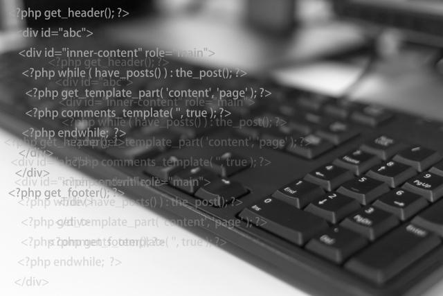 プログラミング言語とキーボード