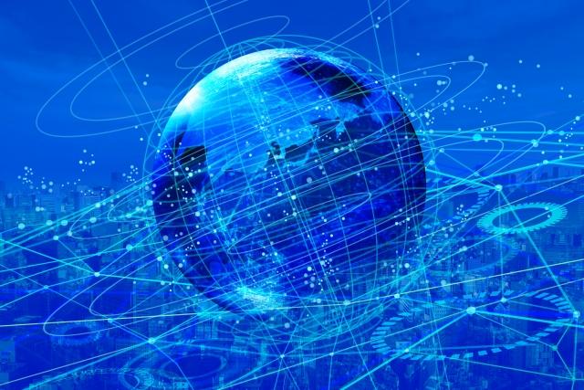 ネットワークテクノロジーのイメージ図